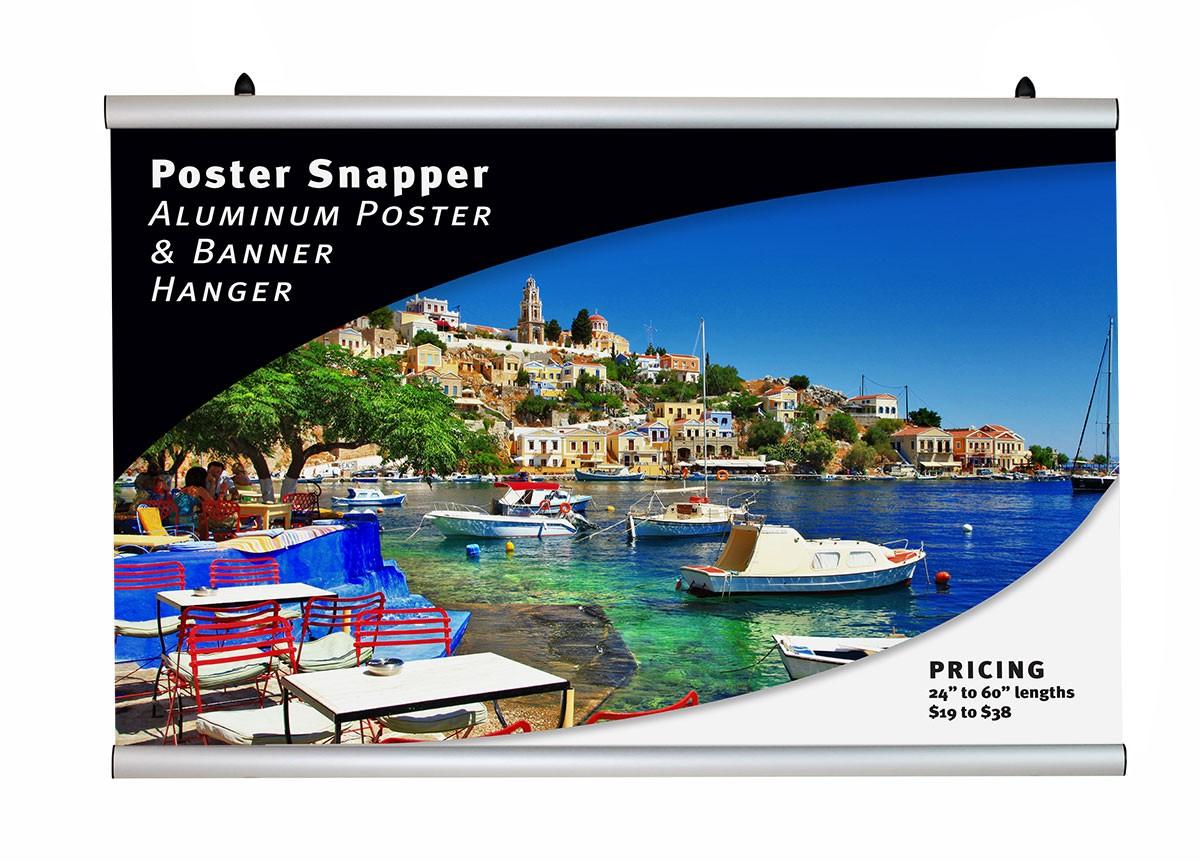 Aluminum Poster Snapper