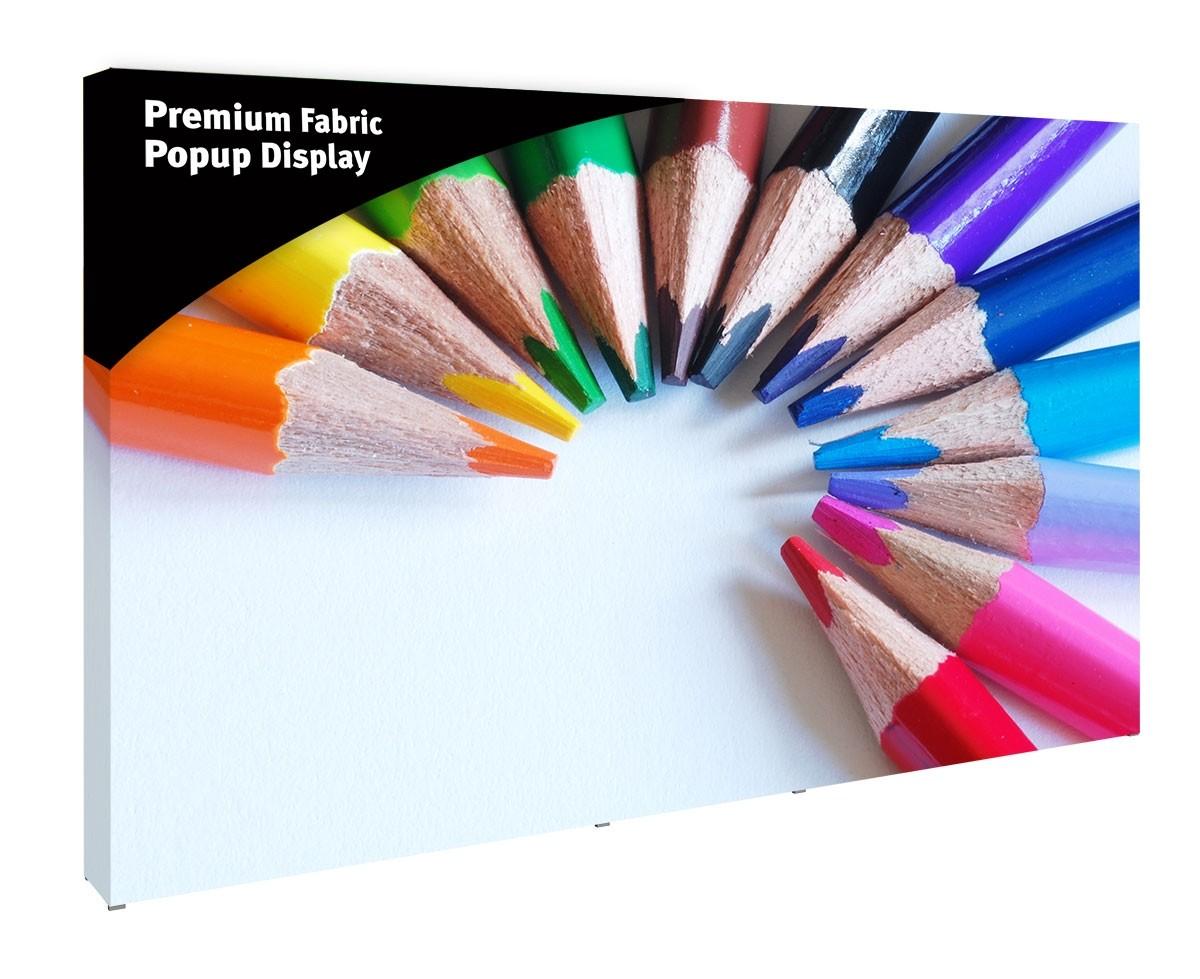 Premium Fabric Popup 12' Display