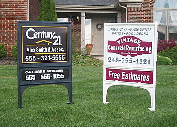 Realicade Real Estate Yard Sign Holders
