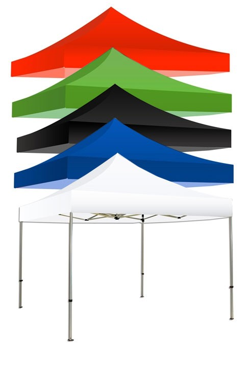 Replacement 20' Canopy Top Solid Colors