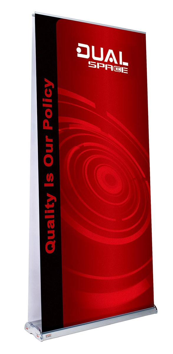 Space Dual 39 Double Sided Retractable Banner Stand