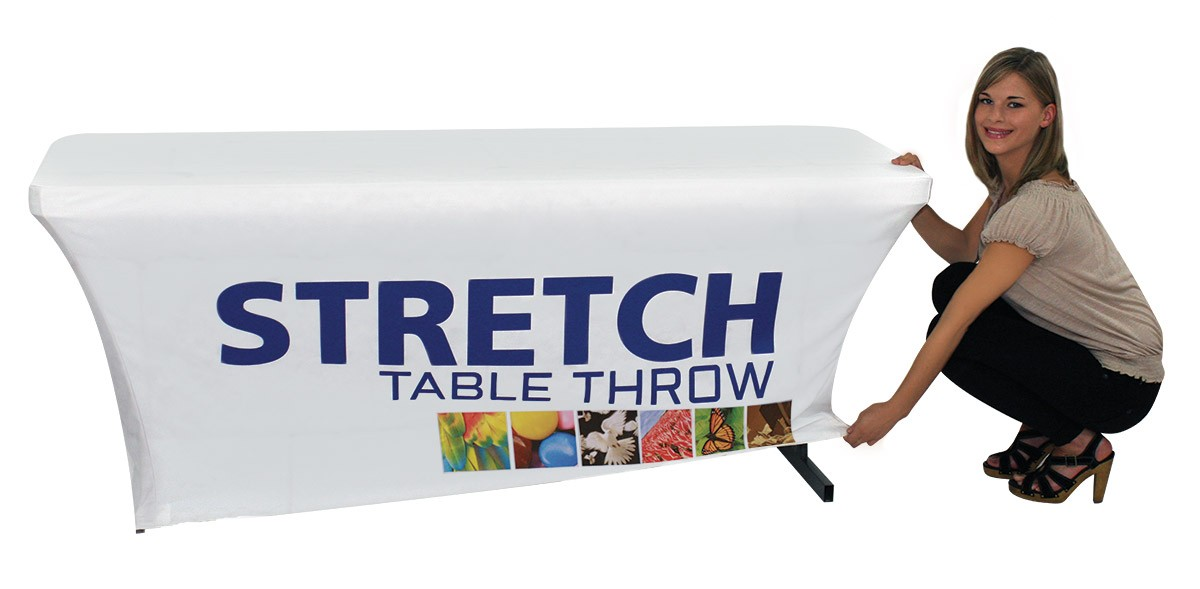 Stretch Table Cover for 6 foot Table