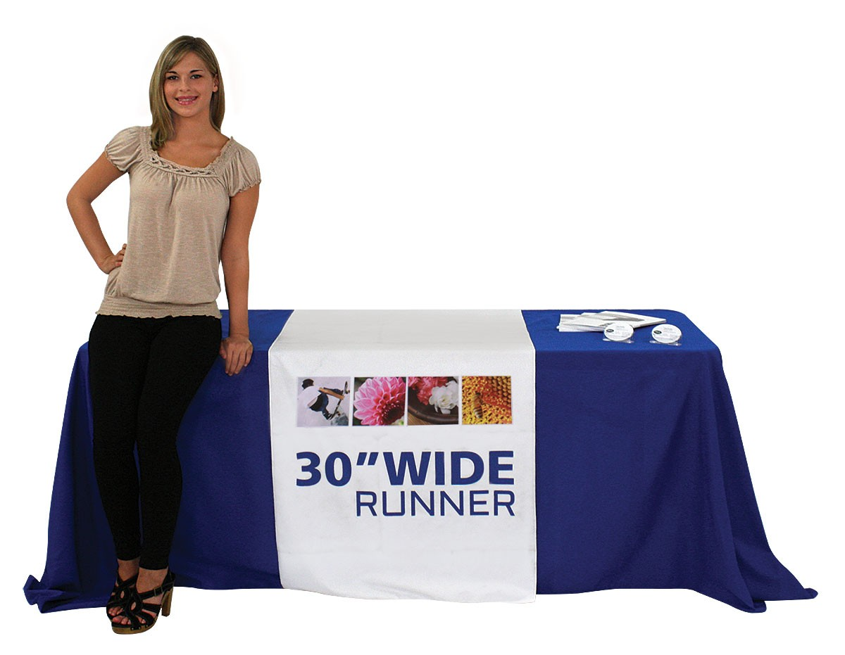 Full Color 30 Inch Wide Table Runner