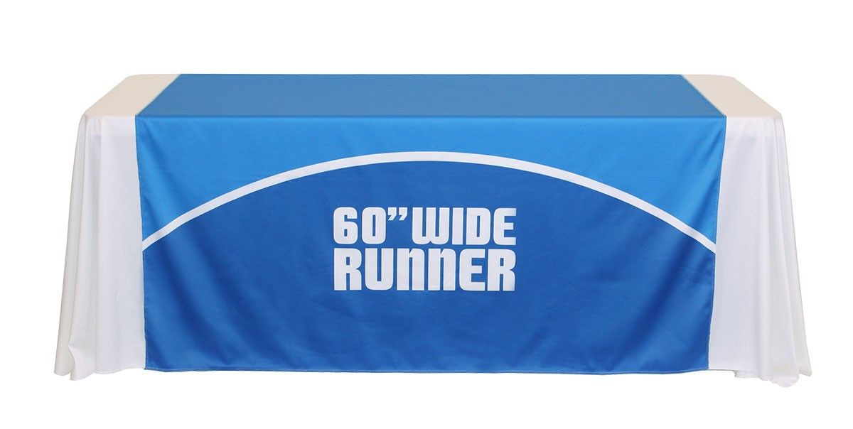 Full Color 60 Inch Wide Table Runner