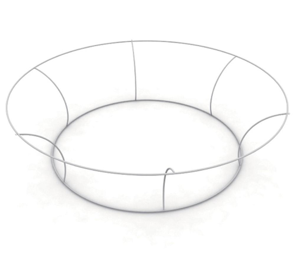 Tapered Circle Hanging Fabric Display 12 ft Diameter