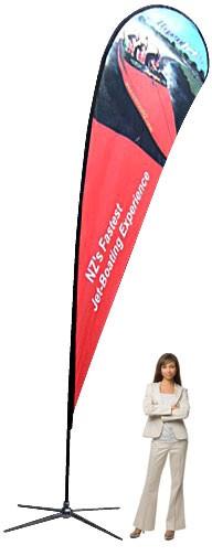 Teardrop Banner XL Outdoor Banner Stand