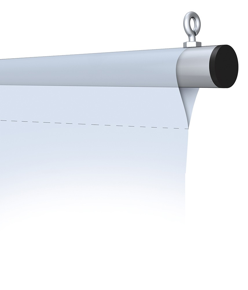 Trapeze Hanging Bars PowerGraphicscom - Vinyl banners with pole pockets