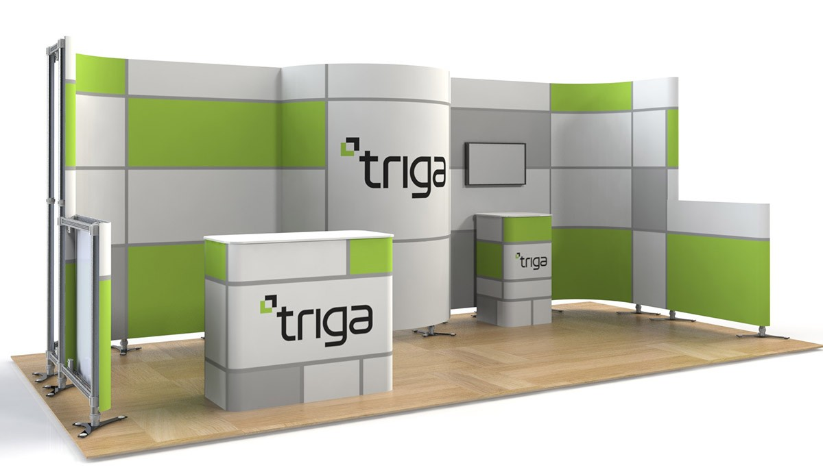 Exhibition Booth Package : Triga trade show booth package e power graphics