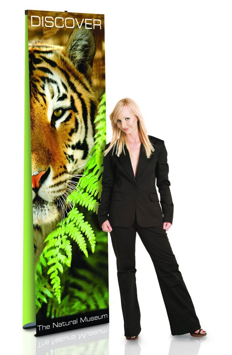 Ultra Banner Stand Double 24 Two Sided Portable Banner Stand