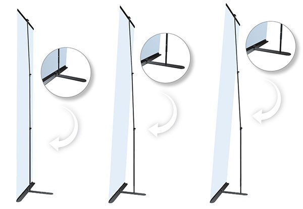 Ultra Banner Stand 24 Portable Banner Stand