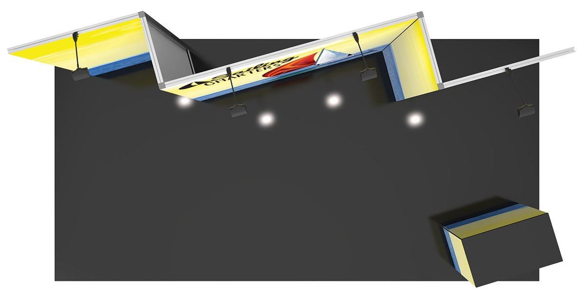 Vector Frame Exhibit Kit 8 Tension Fabric Display
