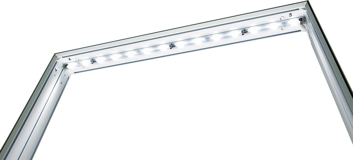 Vector Frame Essentials Backlit Display 3x8