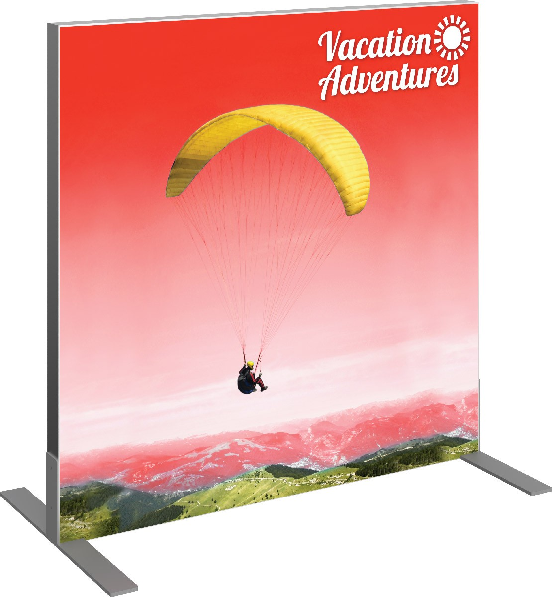 Vector Frame Square Display 1