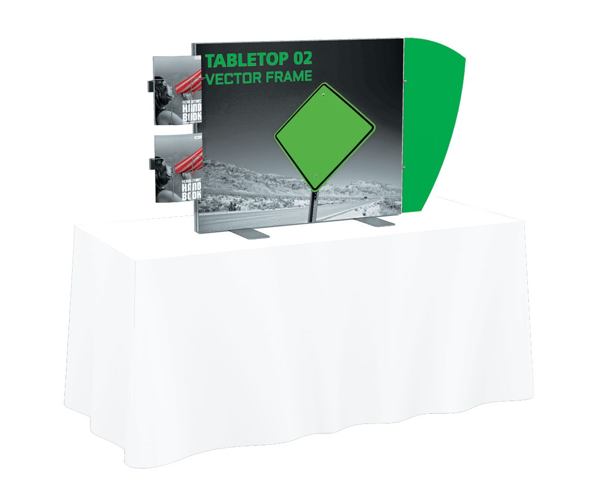 Vector Frame Tension Fabric Table Top Display Kit 2