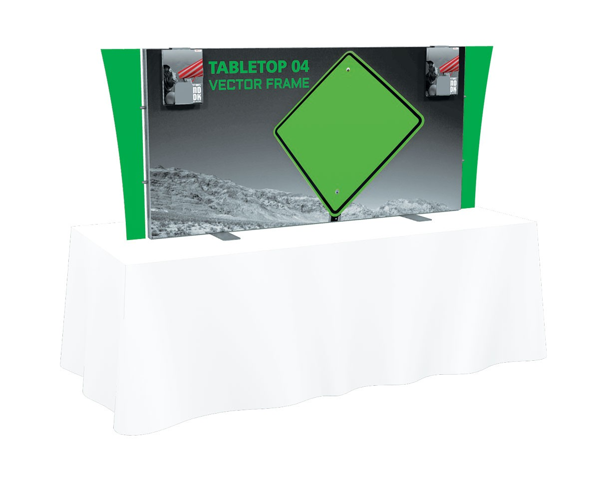 Vector Frame Tension Fabric Table Top Display Kit 4