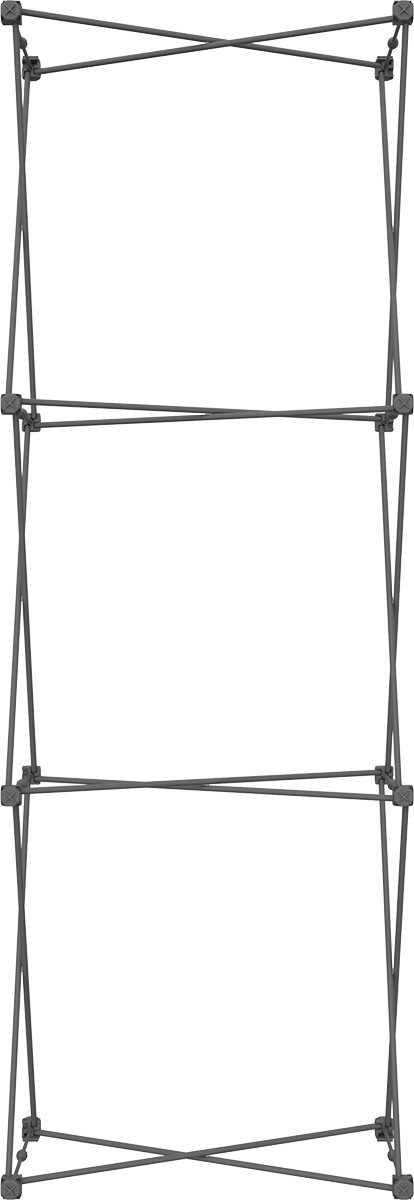 XClaim 2.5' Fabric Pop Up Display Kit 3
