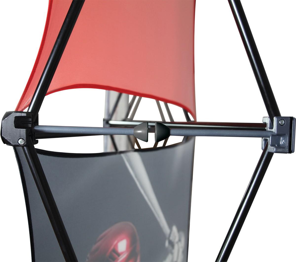 XClaim 10 Quad Pyramid Fabric Pop Up Display Kit 3