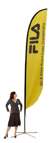 Feather Banner Medium Outdoor Banner Stand