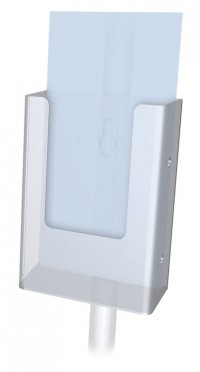 Snap On Acrylic Brochure Holder