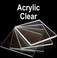 Unprinted Clear Acrylic