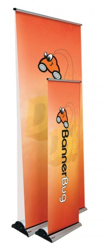Banner Bug 39 Double Two Sided Retractable Banner Stand