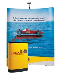 Expand 2000 Curved 2x3 Pop Up Trade Show Display