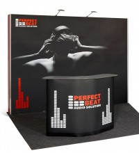 Expand 2000 Straight 4x3 Pop Up Trade Show Display