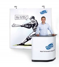 Expand 2000 Straight 3x3 Pop Up Trade Show Display