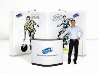 Expand 2000 L-Shaped Pop Up Trade Show Display