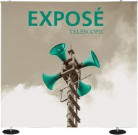 Exposé Straight Telescopic Banner Stand