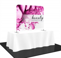 Formulate Essentials Straight Tension Fabric Table Top Display