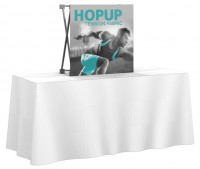 HopUp 1x1 Tension Fabric Table Top Display