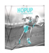 Backlit HopUp 2x2 Tension Fabric Table Top Display