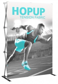 Hopup 2x3 Tension Fabric Pop Up Display