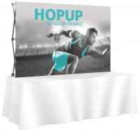 HopUp 3x2 Tension Fabric Table Top Display