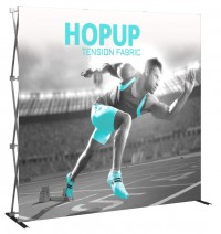 Hopup 3x3 Tension Fabric Pop Up Display
