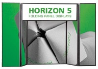 Horizon 5 Folding Panel Table Top Display