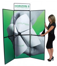 Horizon 6 Folding Panel Trade Show Display