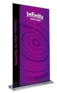 Space Infinity 60 Retractable Banner Stand