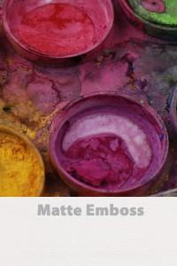 Matte emboss vinyl wall murals