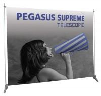 Pegasus Supreme Telescopic Portable Banner Stand