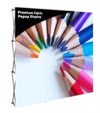 Premium Fabric Popup 8' Display