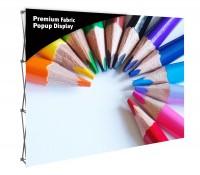 Premium Fabric Popup 10' Display