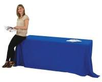 Blank Table Cover for 6 foot Table