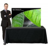Space Supreme 60 Table Top Retractable Banner Stand