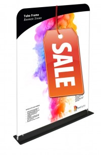 Tube Frame Banner 60 Tension Fabric Display