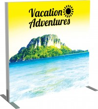 Vector Frame Backlit Display 4x4 Illuminated Tension Fabric Display