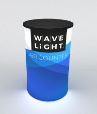 WaveLight Air Round Backlit Inflatable Counter