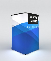 WaveLight Air Square Backlit Inflatable Counter