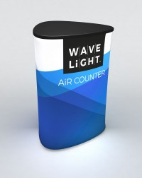 WaveLight Air Triangle Backlit Inflatable Counter